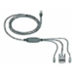 IBM/Lenovo31R3130_IBM 3M Console Switch Cable (PS/2) - Keyboard,Mouse,Monitor三合一訊號連接線
