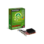 PowerColor 撼訊PowerColor Radeon Go! Green HD6450 1GB DDR3 HDMI V3 (UEFI Ready)